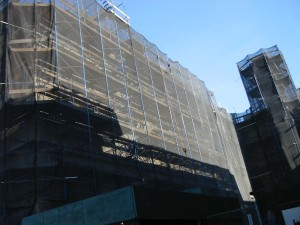233 scaffold netting